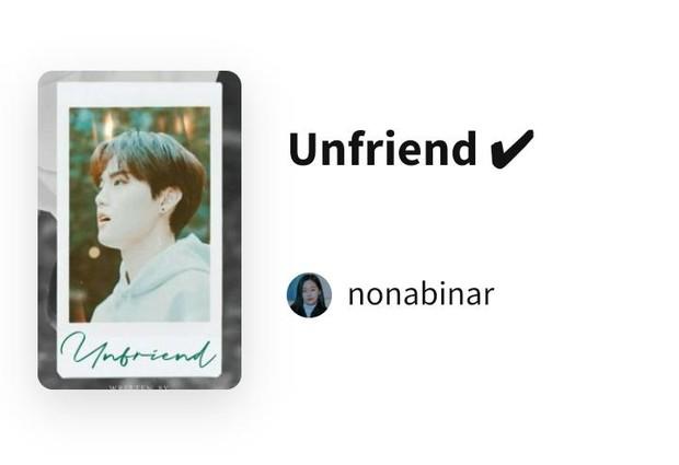 Unfriend/Foto: wattpad.com/nonabinar