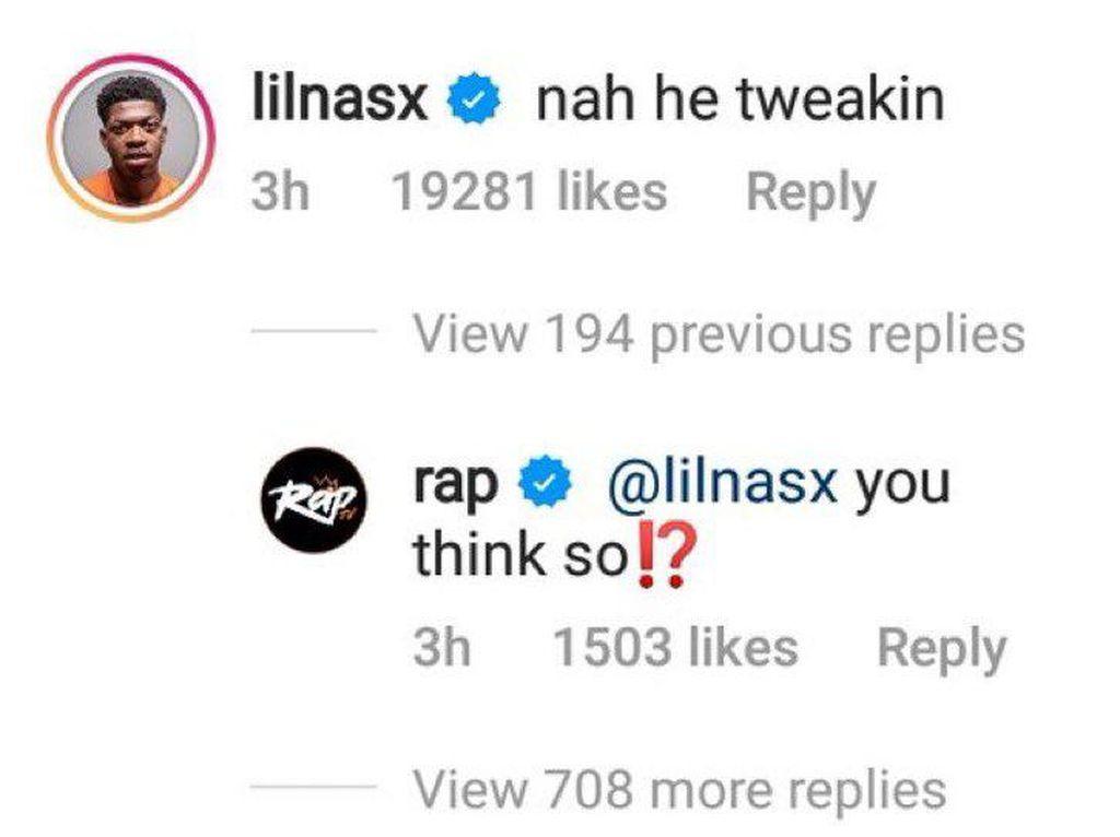 Viral Komentar Nah He Tweakin di Instagram Artis, Ternyata Ini Artinya