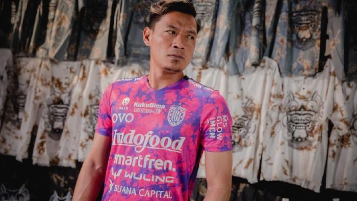 Bali United memperkenalkan jersey baru untuk Liga 1 2021