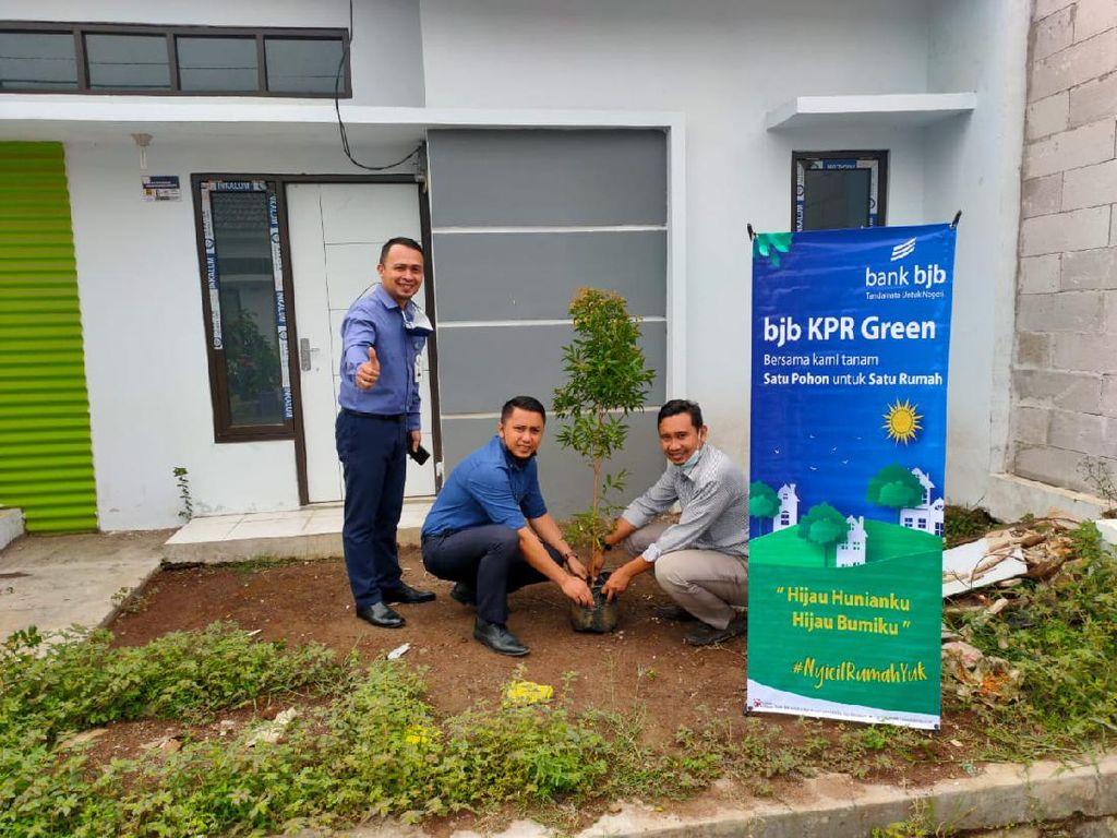 Dukung Penghijauan, bank bjbLuncurkan KPRSatu Rumah, Satu Pohon