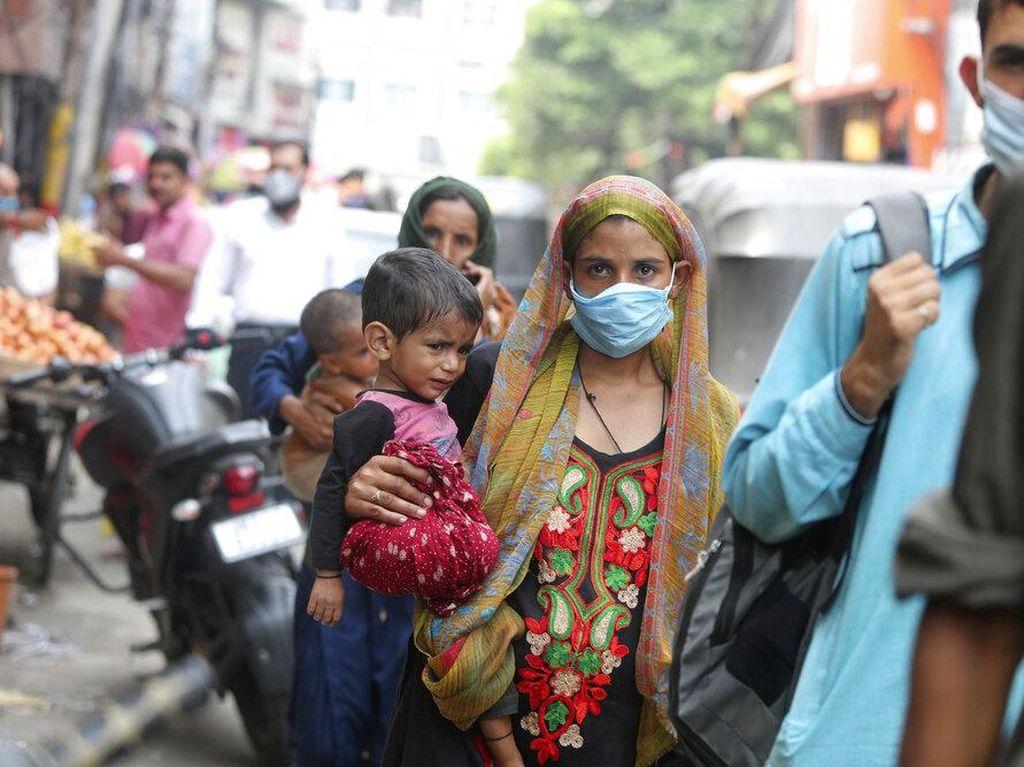 Ancaman Gelombang Ketiga COVID-19, India Tetap Nekat Gelar Festival Besar-besaran