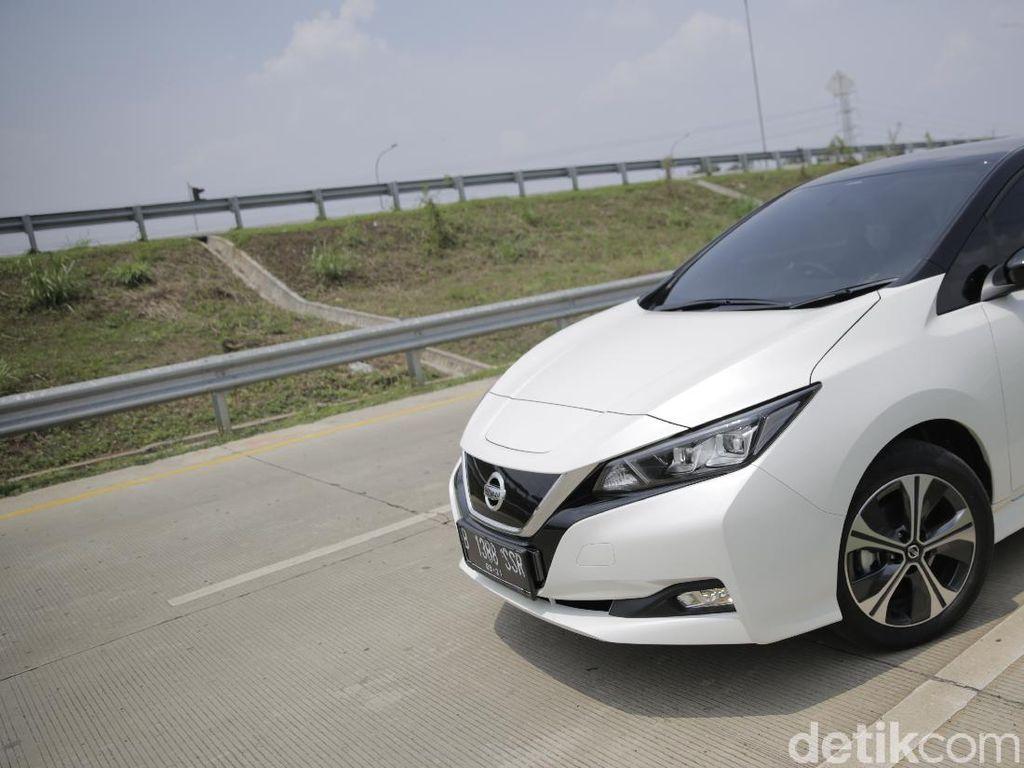 Uji Efisiensi Nissan Leaf: Jakarta-Bandung Cuma Rp 40 Ribuan