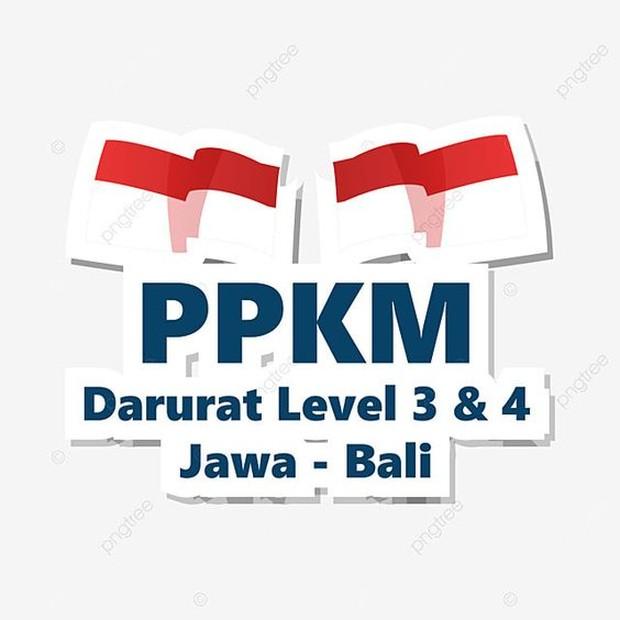 penerapan ppkm level 3 dan 4 untuk jawa bali