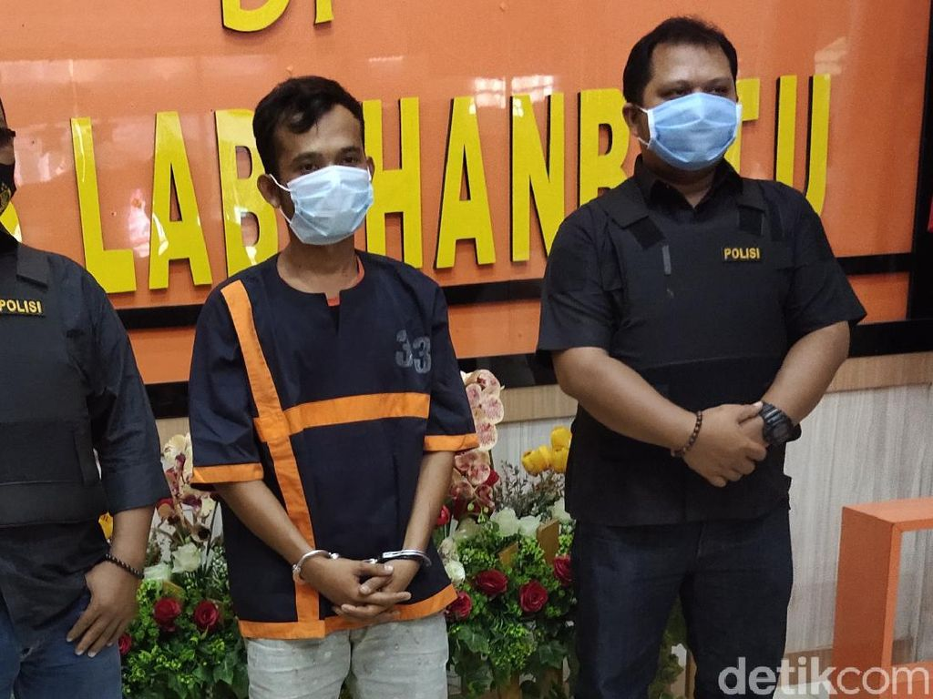 Ayah yang Paksa Anak Merokok di Labura Sumut Ditangkap