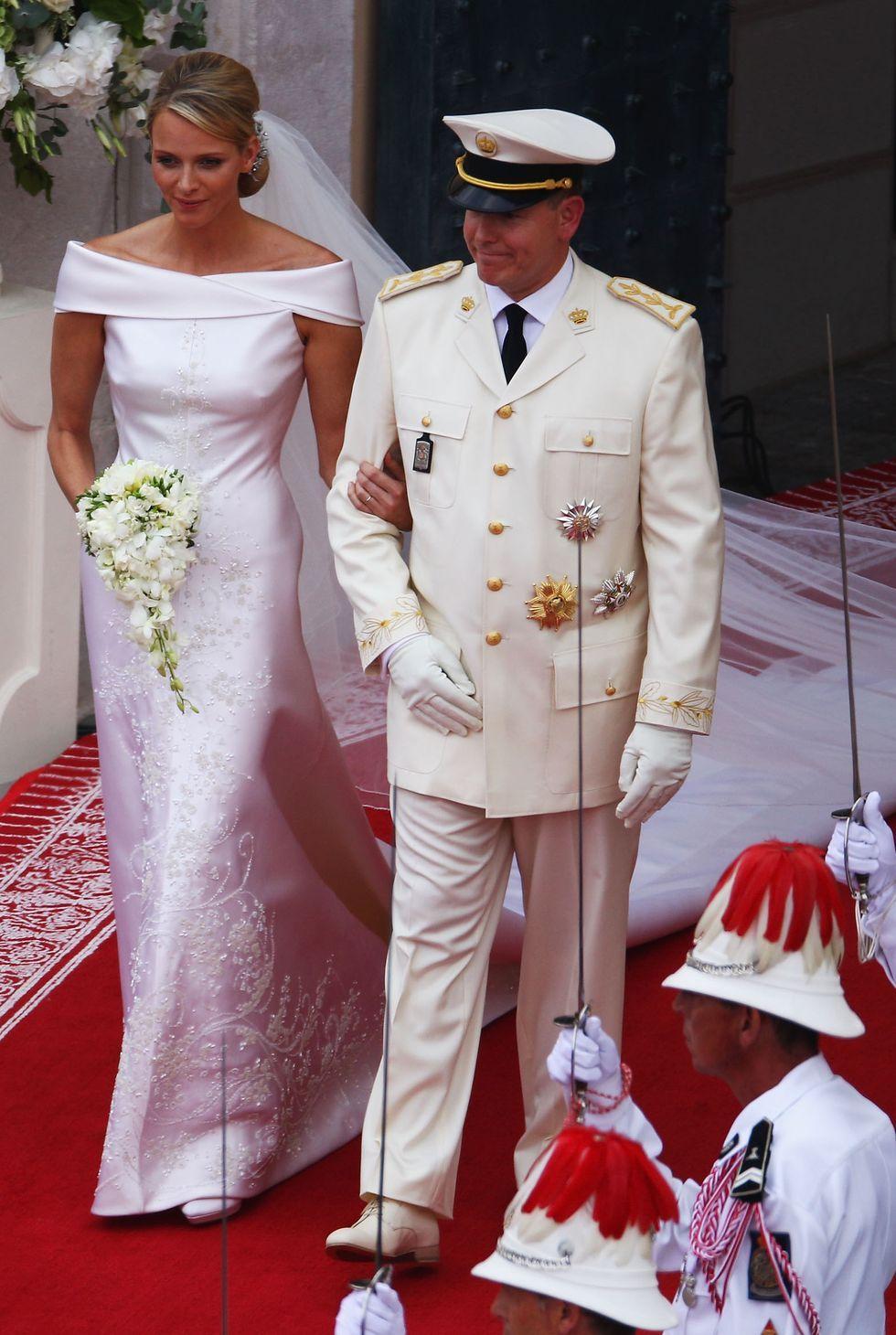 Putri Charlene Wittstock dan Pangeran Albert II Monako