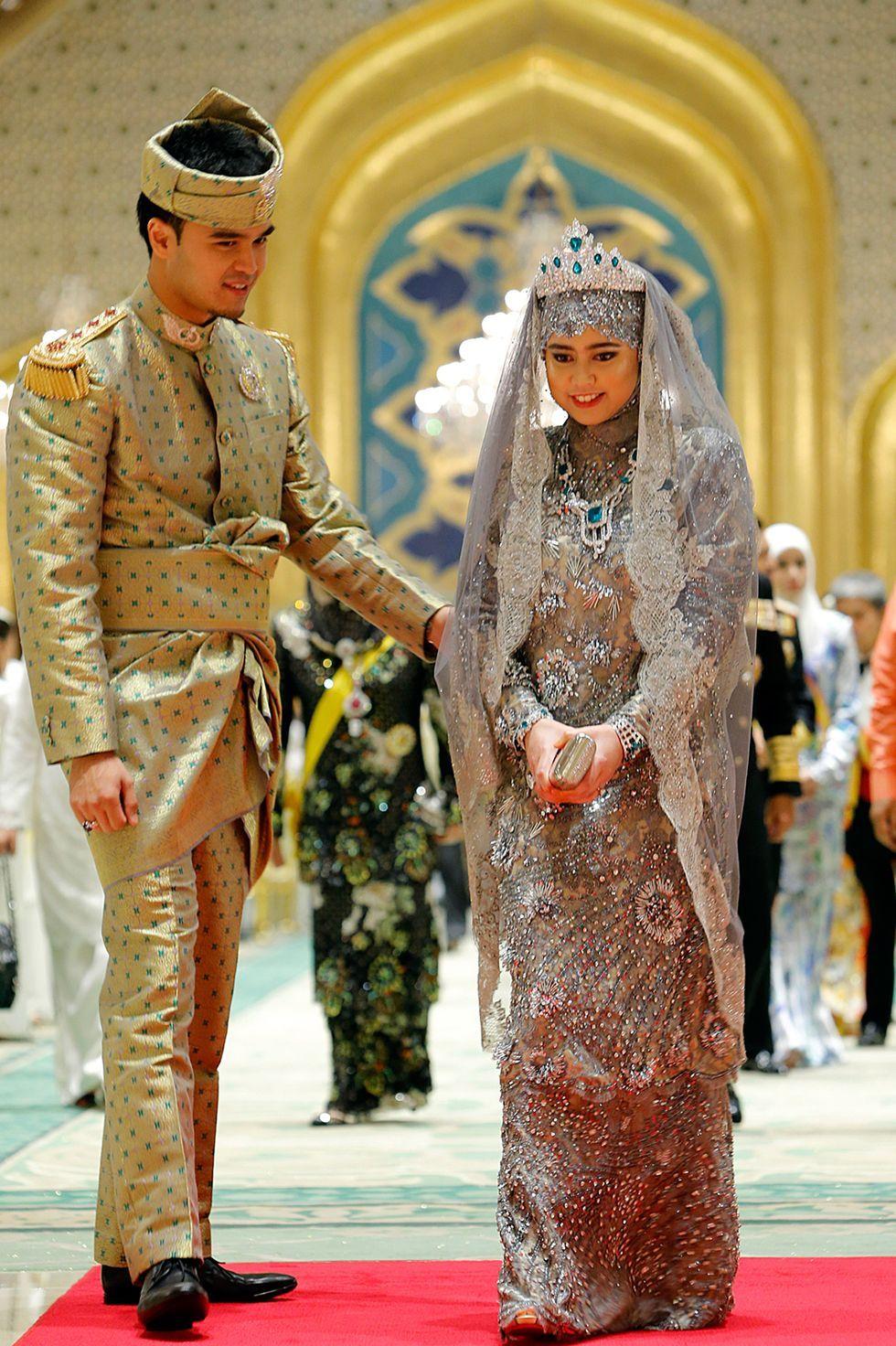 Putri Hajah Hafizah Sururul Bolkiah and Pengiran Haji Muhammad Ruzaini