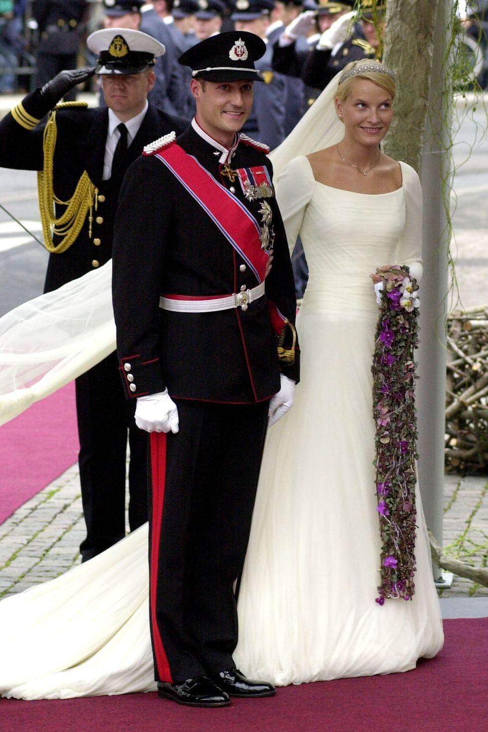 Putri Mette Marit dan Pangeran Haakon Norwegia