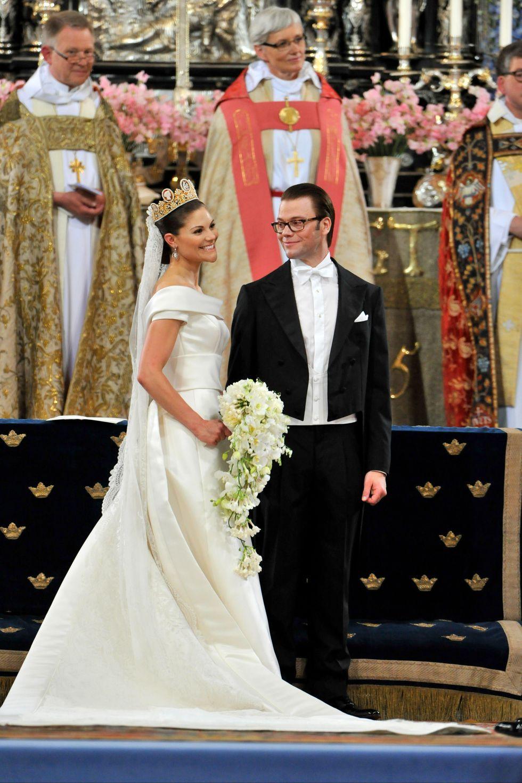 Putri Victoria dan Pangeran Daniel Swedia