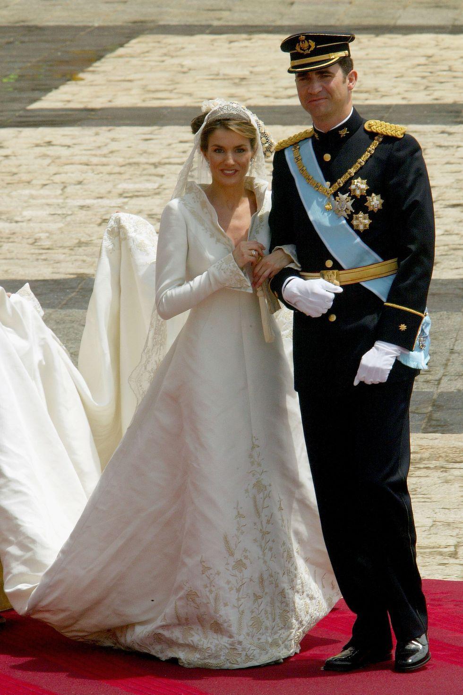 Ratu Letizia dan Raja Felipe Spanyol