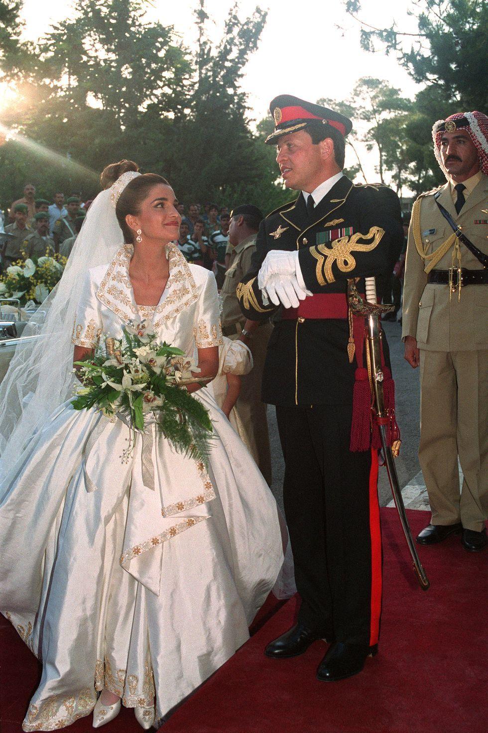 Ratu Rania dan Raja Abdullah II Yordania