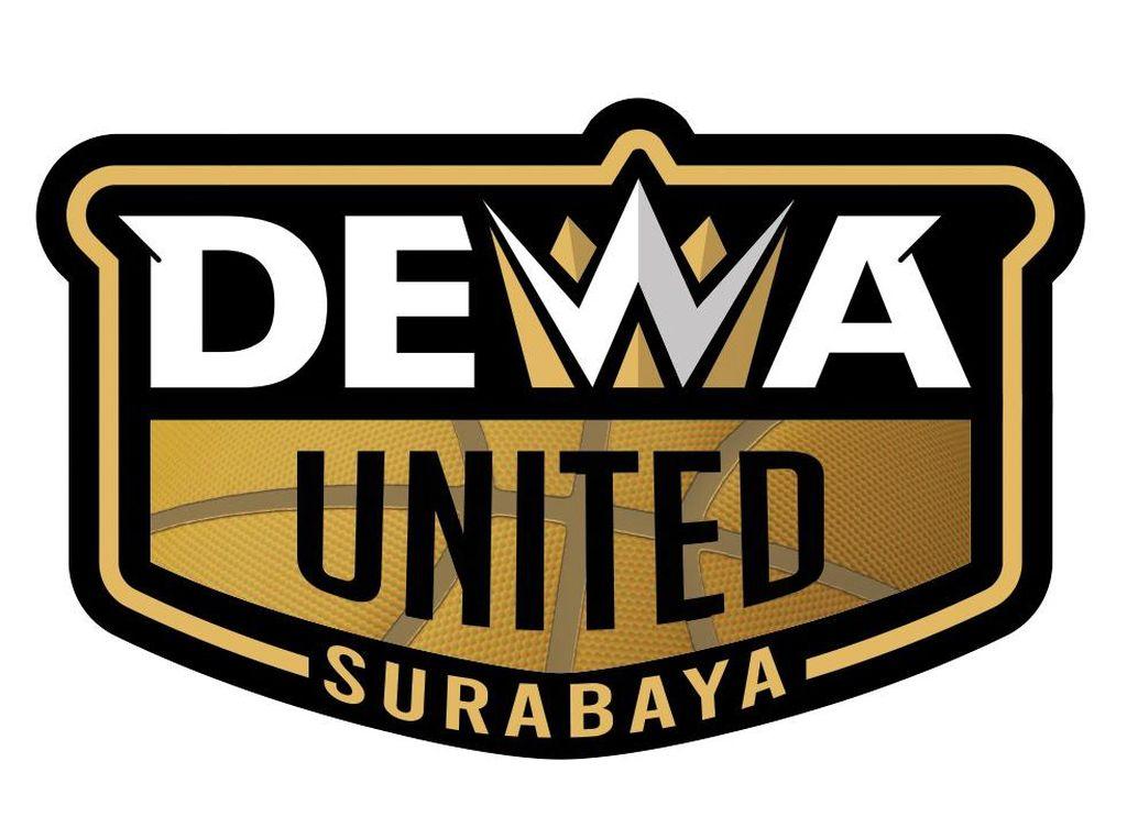Tim Basket Dewa United Surabaya Perkenalkan Logo Baru