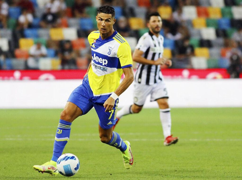 PSG Tak Minati Ronaldo
