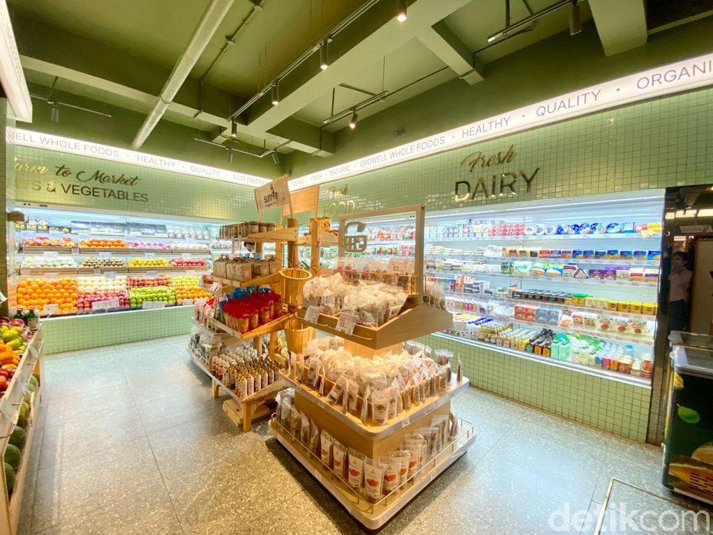 Di Supermarket Sehat Ini Bisa Belanja Makanan Organik dan Bikin Selai Kacang Sendiri