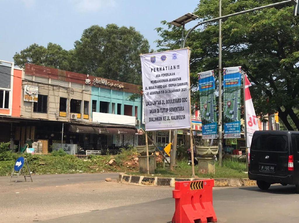 Ada Perbaikan, Jalan di Grand Depok City Ditutup 31 Agustus-24 Desember