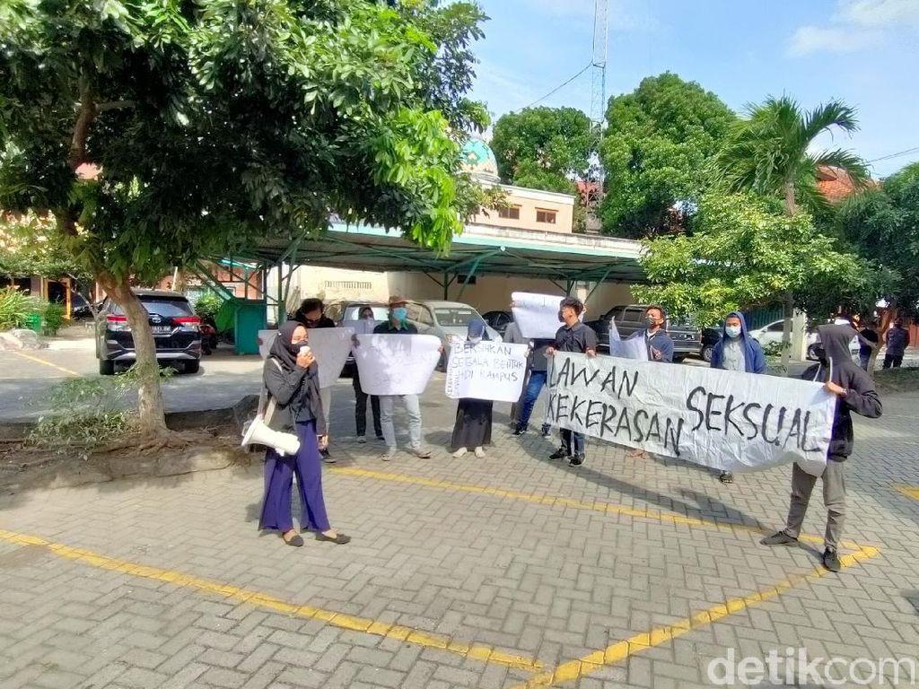Mahasiswa IAIN Kediri Demo, Tuntut Dosen Lecehkan Mahasiswi Diproses Hukum