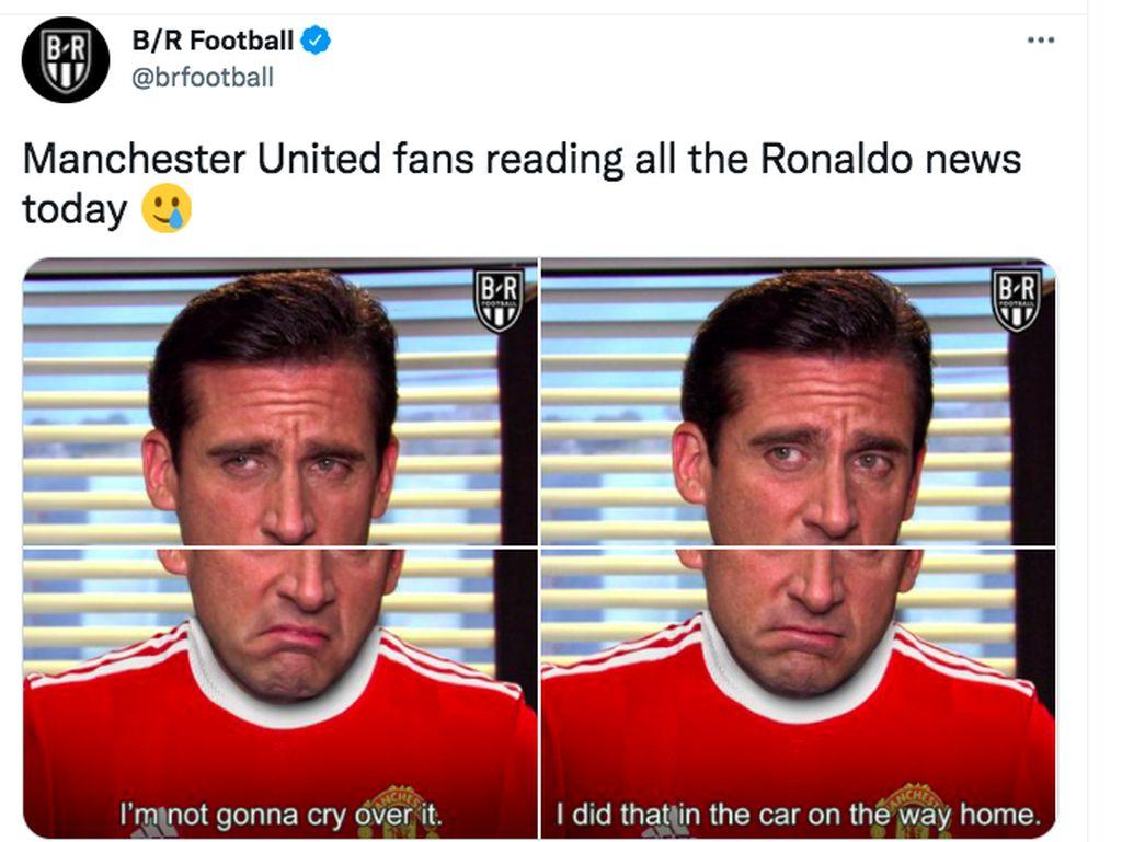Ronaldo Mau ke City, Netizen Fans MU Kesal Sekali
