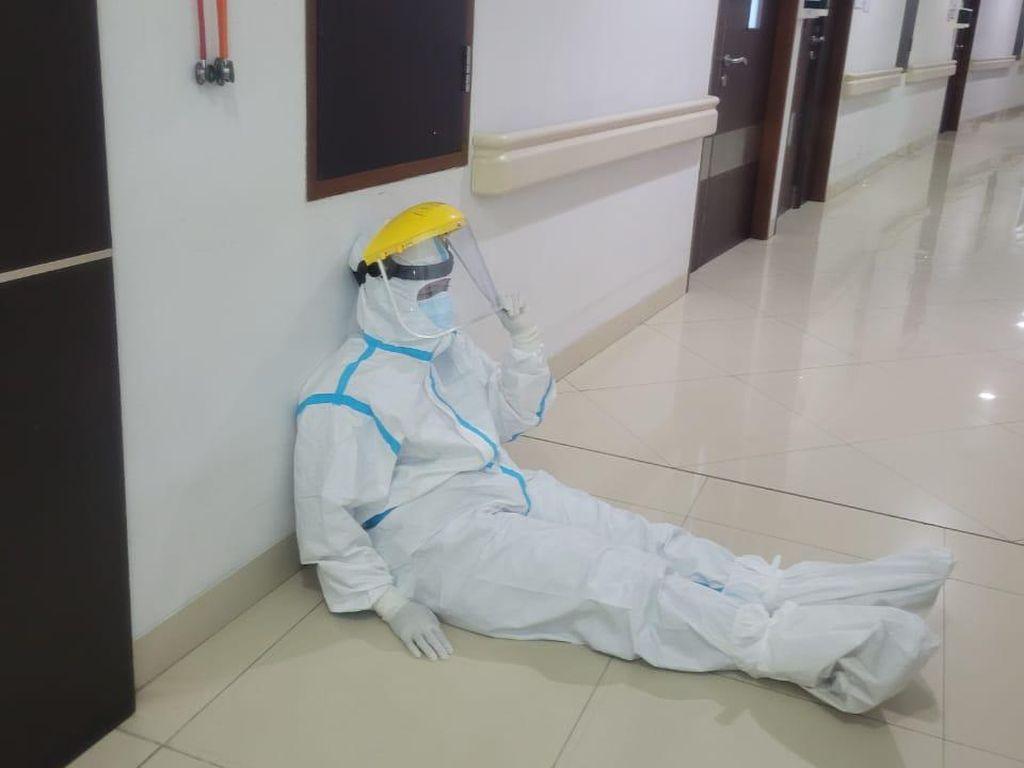 Sepenggal Kisah Nakes di Bandung Barat Hadapi Pasang Surut Pandemi Corona