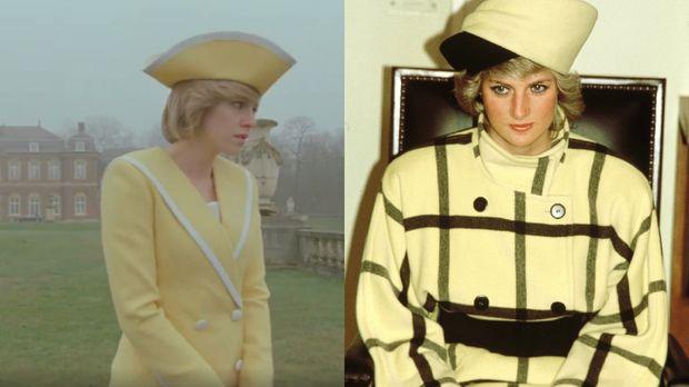 Perbandingan Gaya Kristen Stewart dengan Putri Diana di Trailer Film Spencer