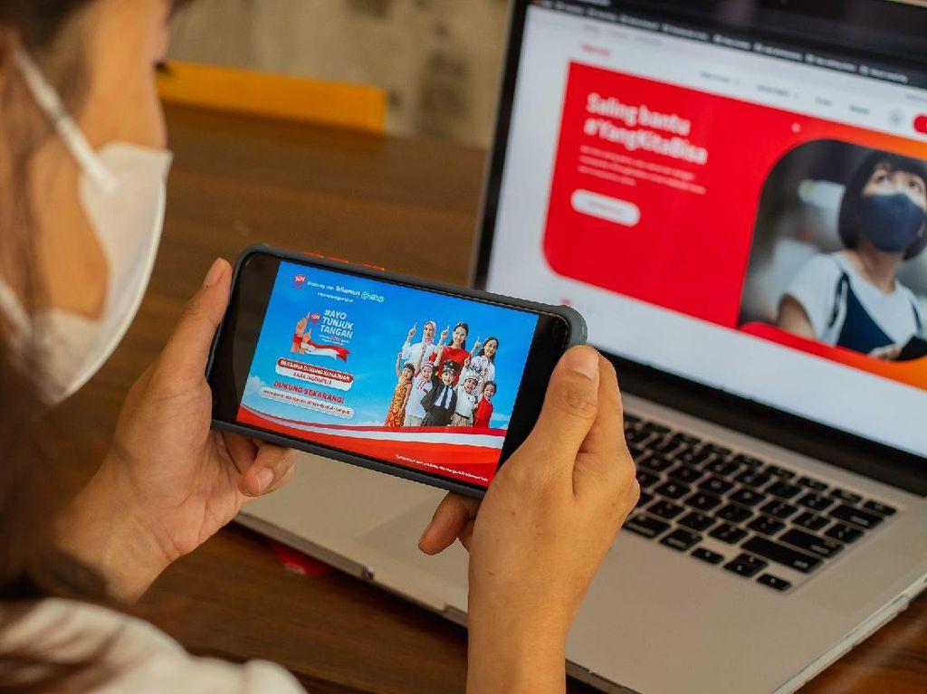 Telkomsel Beri HP-Kuota Internet untuk 1.500 Siswa Terdampak Pandemi