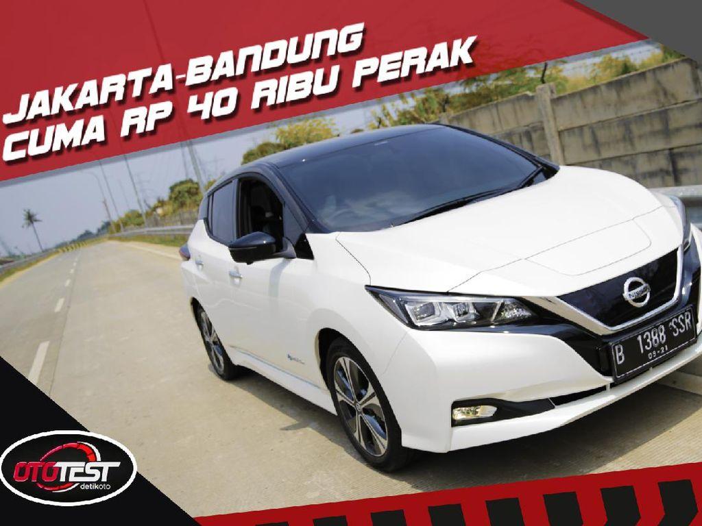 Tes Lengkap Nissan Leaf, Mobil Listrik Termurah di Indonesia