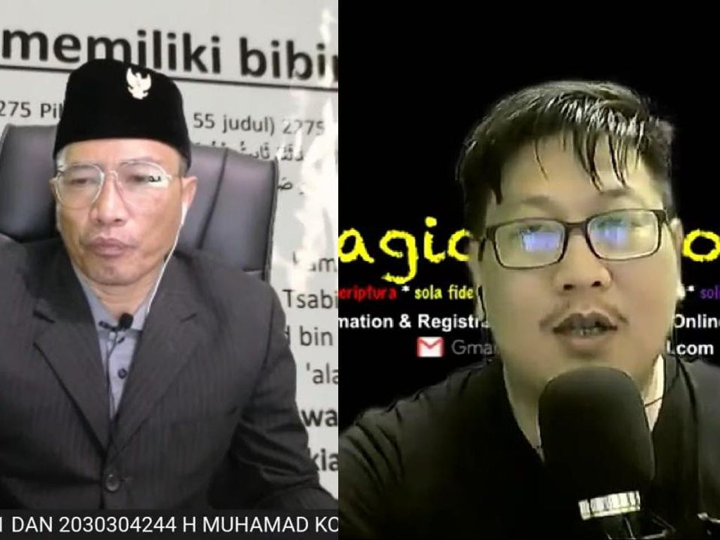 5 Fakta Perbandingan Muhammad Kece VS Jozeph Paul Zhang