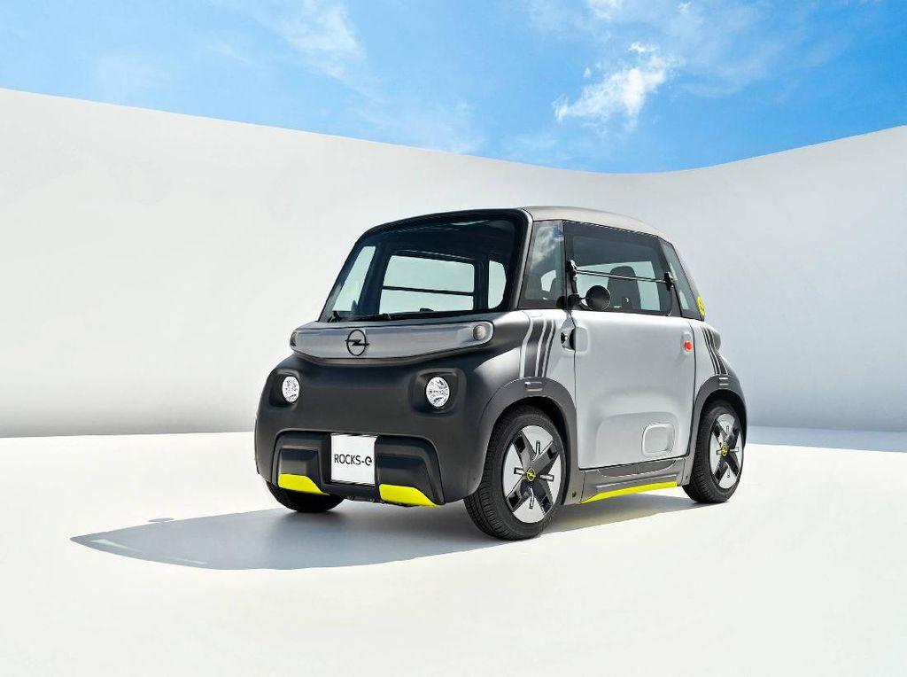 Wujud Mobil Listrik dari Opel: Imut-imut, Harganya Cuma Rp 108 Jutaan