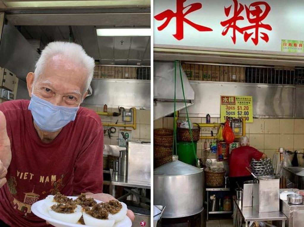 Sebelum Pensiun, Penjual Kaki Lima Legendaris Ini Bagikan Resep Rahasia Makanannya