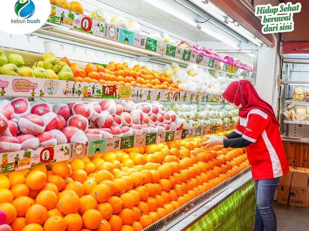 Stroberi Korea dan Anggur Australia Bisa Dibeli di 5 Supermarket Buah Ini.