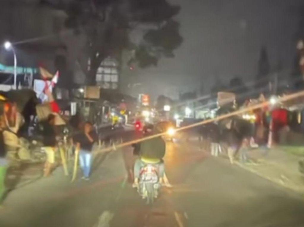 Polisi Sebut Sweeping Pemotor di Lembang Dipicu Insiden Tabrak Lari