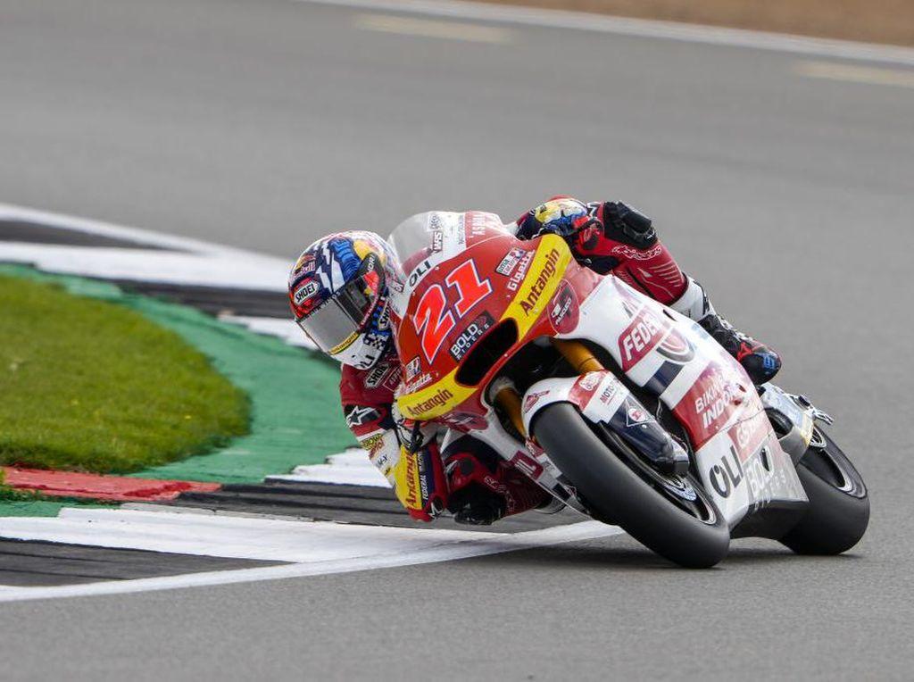 Moto2 Inggris: Raih Posisi Start Sip, Rider Tim Indonesia Optimistis