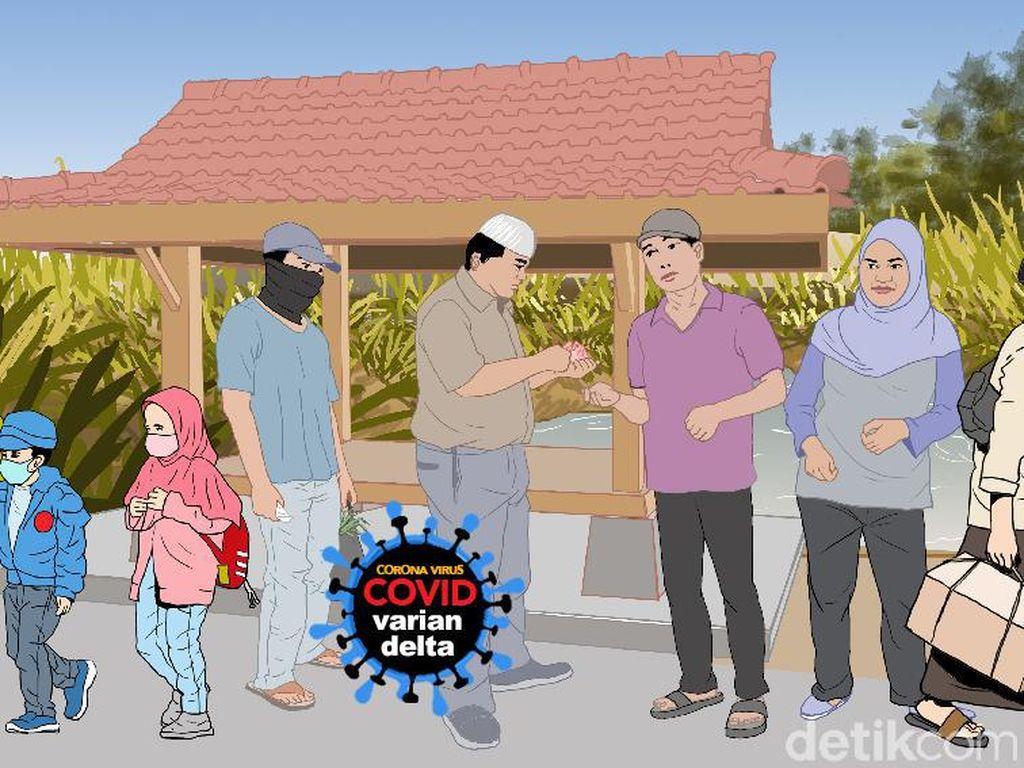 9 Warga Bantul Positif COVID Usai Jenguk Tetangga Sakit