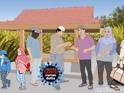154 Kelurahan di Surabaya Disebut Berstatus Zona Hijau