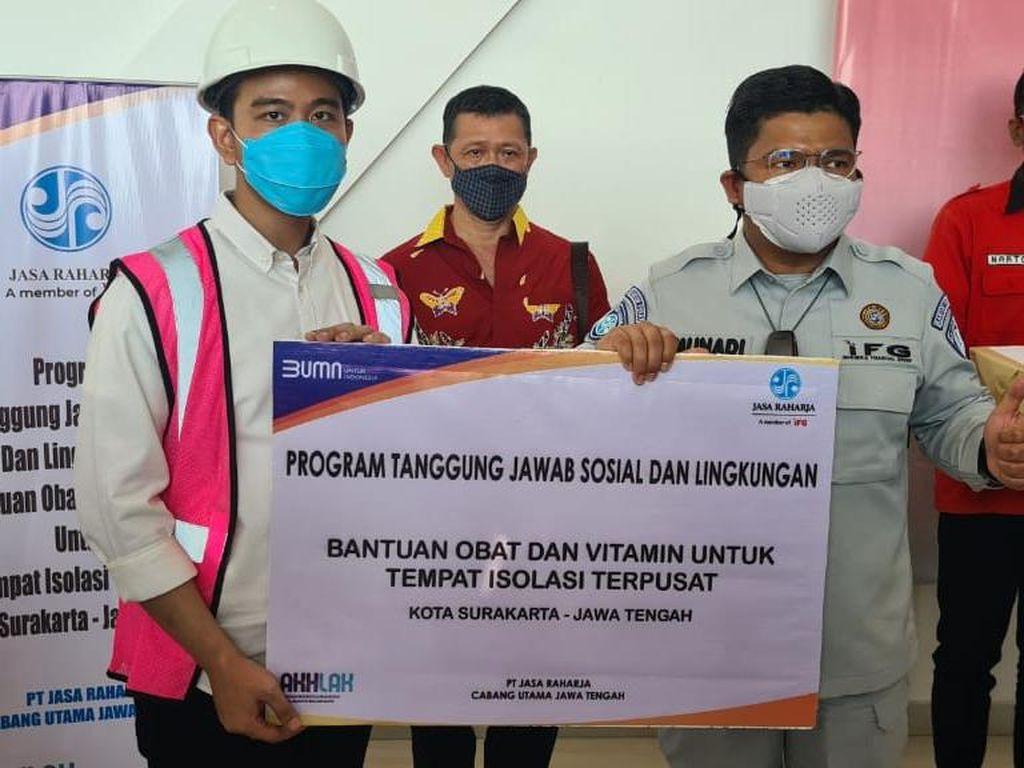 Jasa Raharja Salurkan Bantuan Obat-obatan dan Bansos di Jawa Tengah