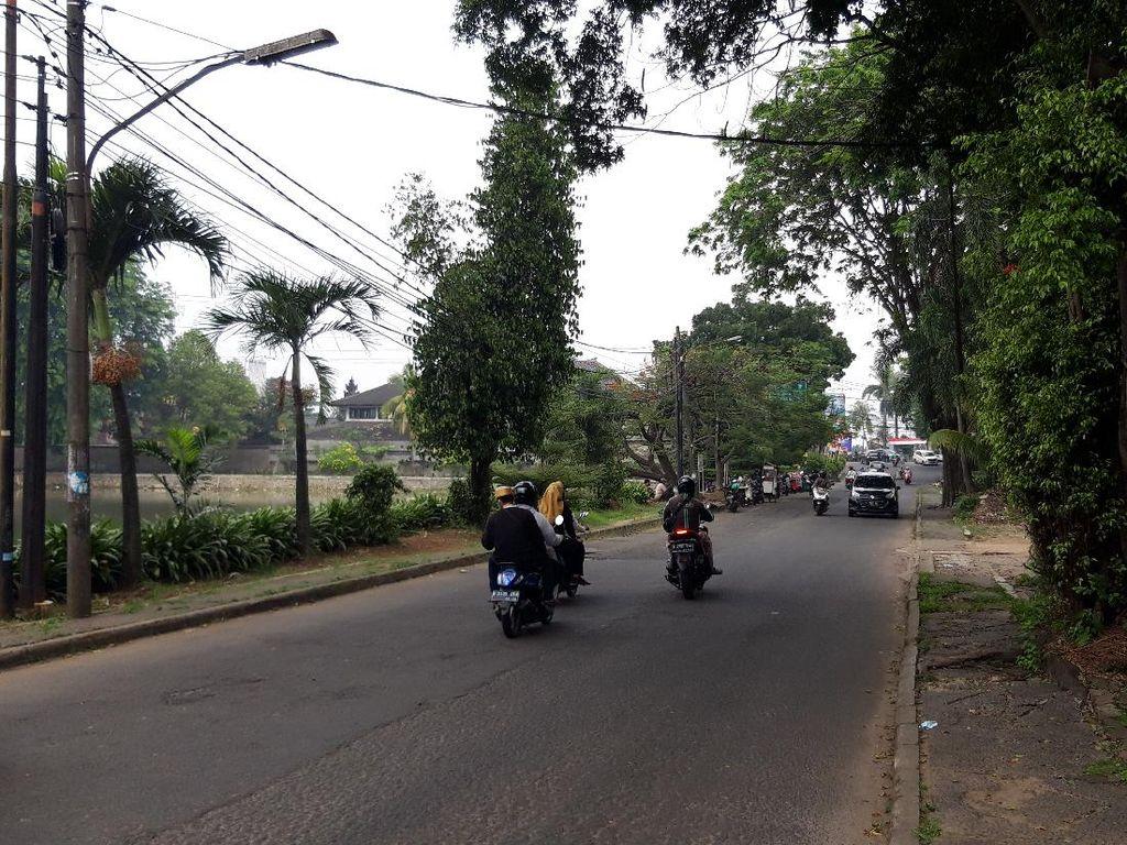 Ini Lokasi Pemotor Perempuan Jadi Korban Begal Payudara di Depok