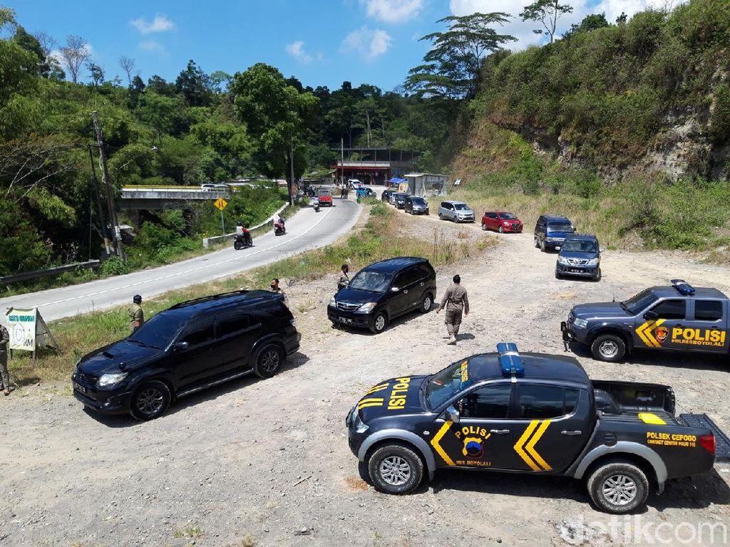 Penyekatan Jalur Wisata di Boyolali, Ratusan Kendaraan Diputar Balik