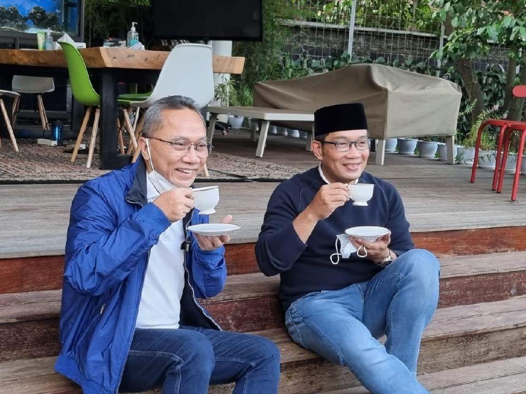 Ketum PAN Bertemu Ridwan Kamil di Bandung, Bahas Pilpres 2024?