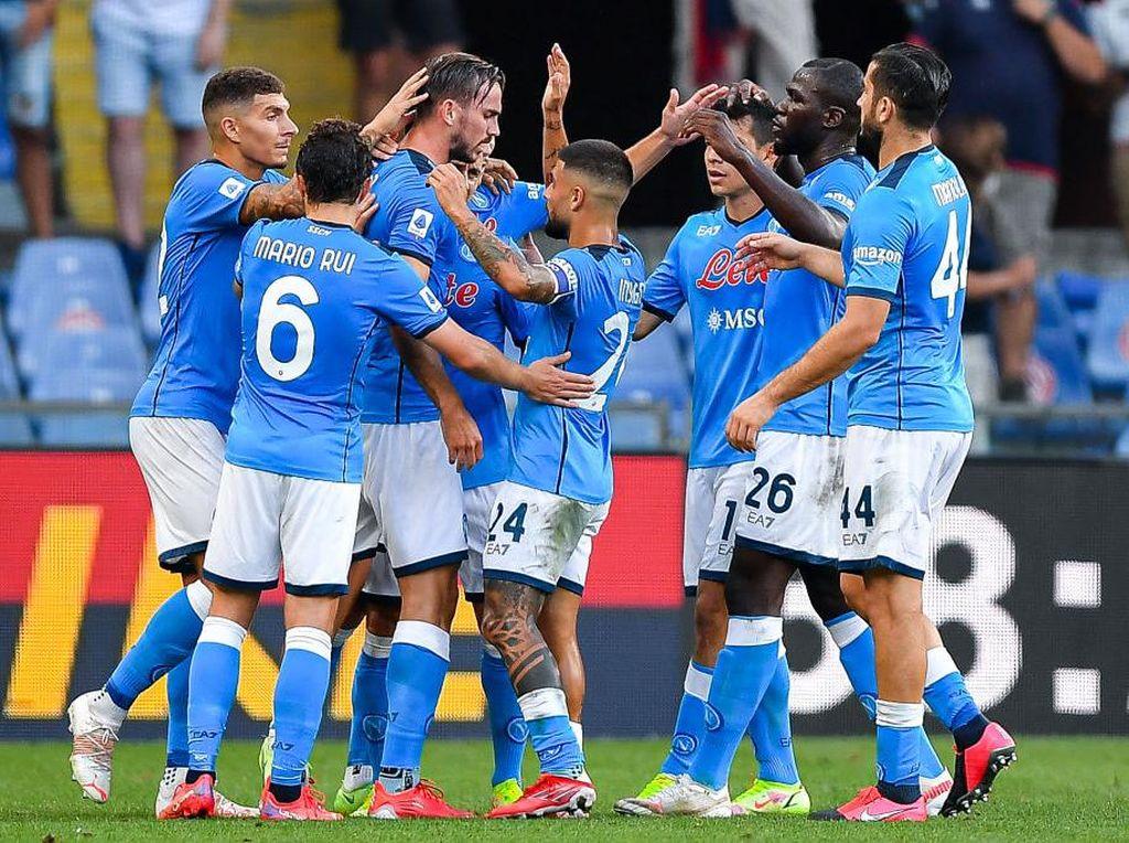 Napoli Vs Juventus: Partenopei Jangan Terlena Hasil Awal Musim