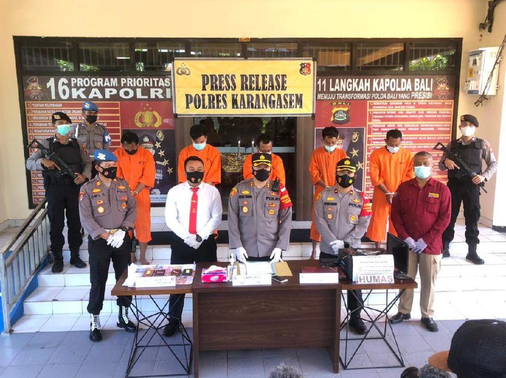 Polisi Tangkap 22 Pembuat-Pengguna Sertifikat Vaksin Palsu di Bali