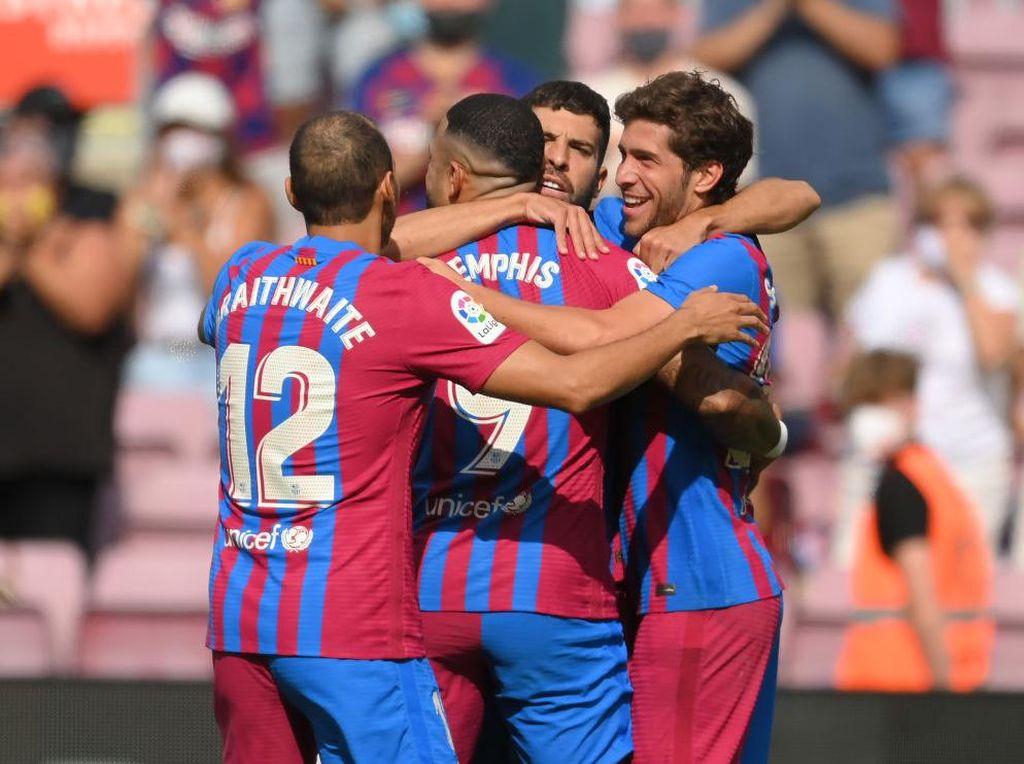 Jamu Getafe, Barcelona Menang Tipis 2-1
