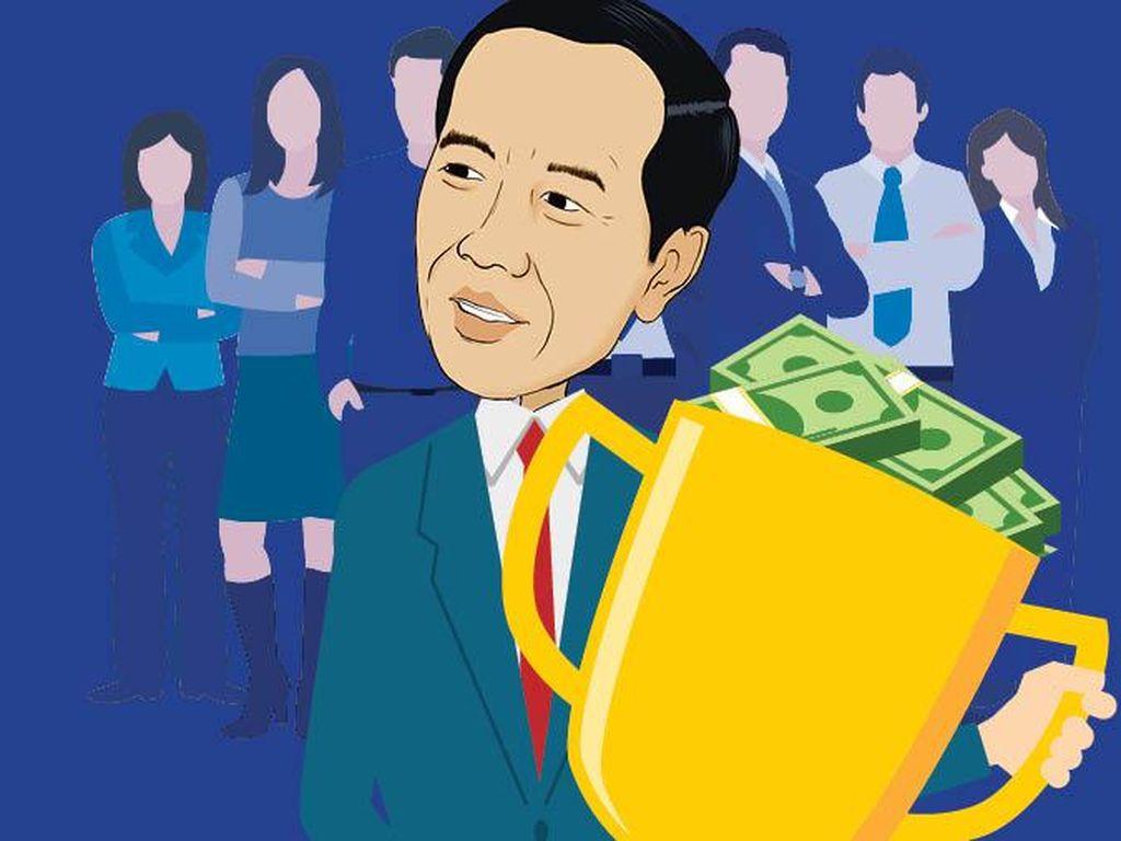 Bonus Wakil Menteri Rp 580 Juta