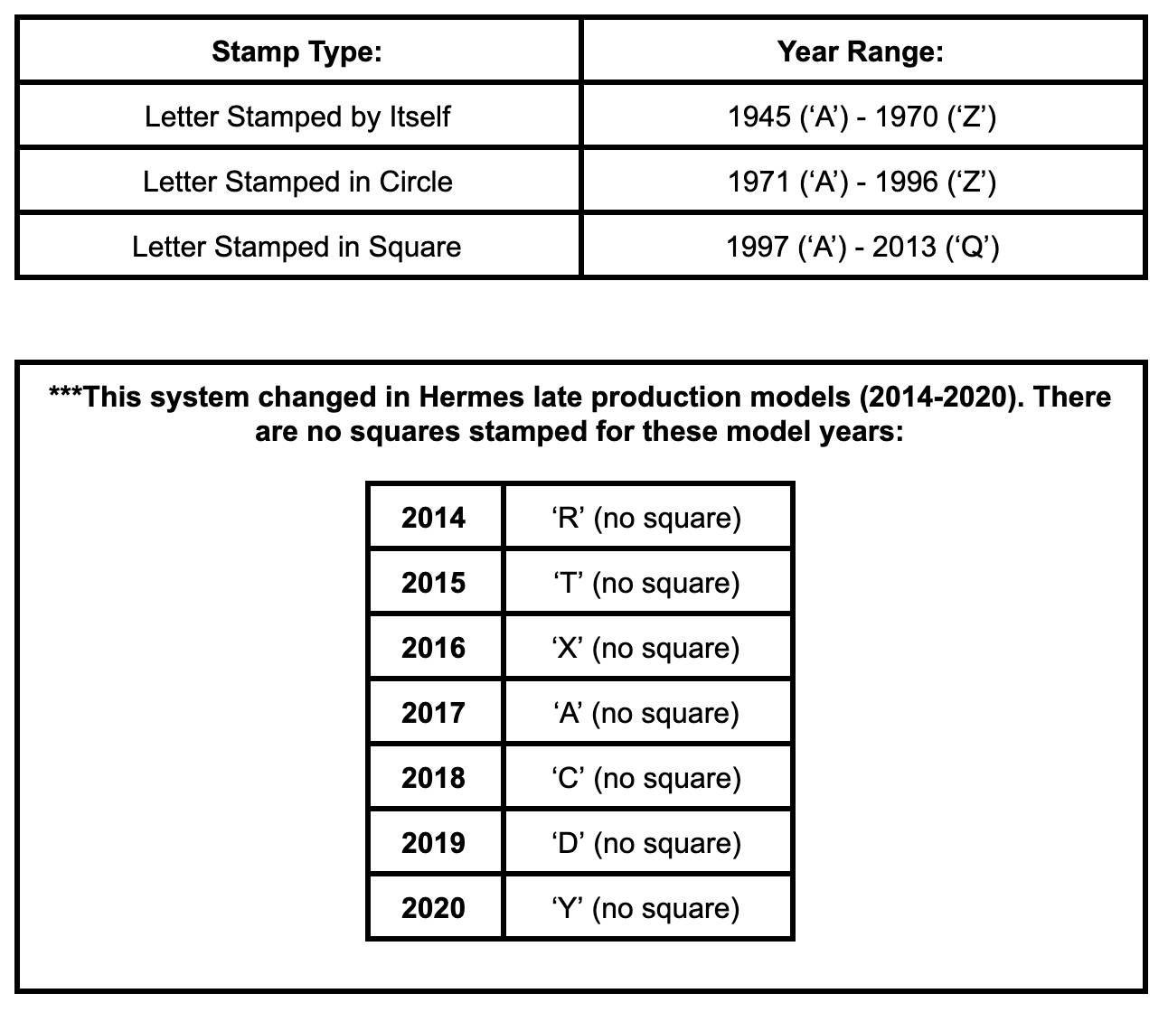 Stamp tas Hermès
