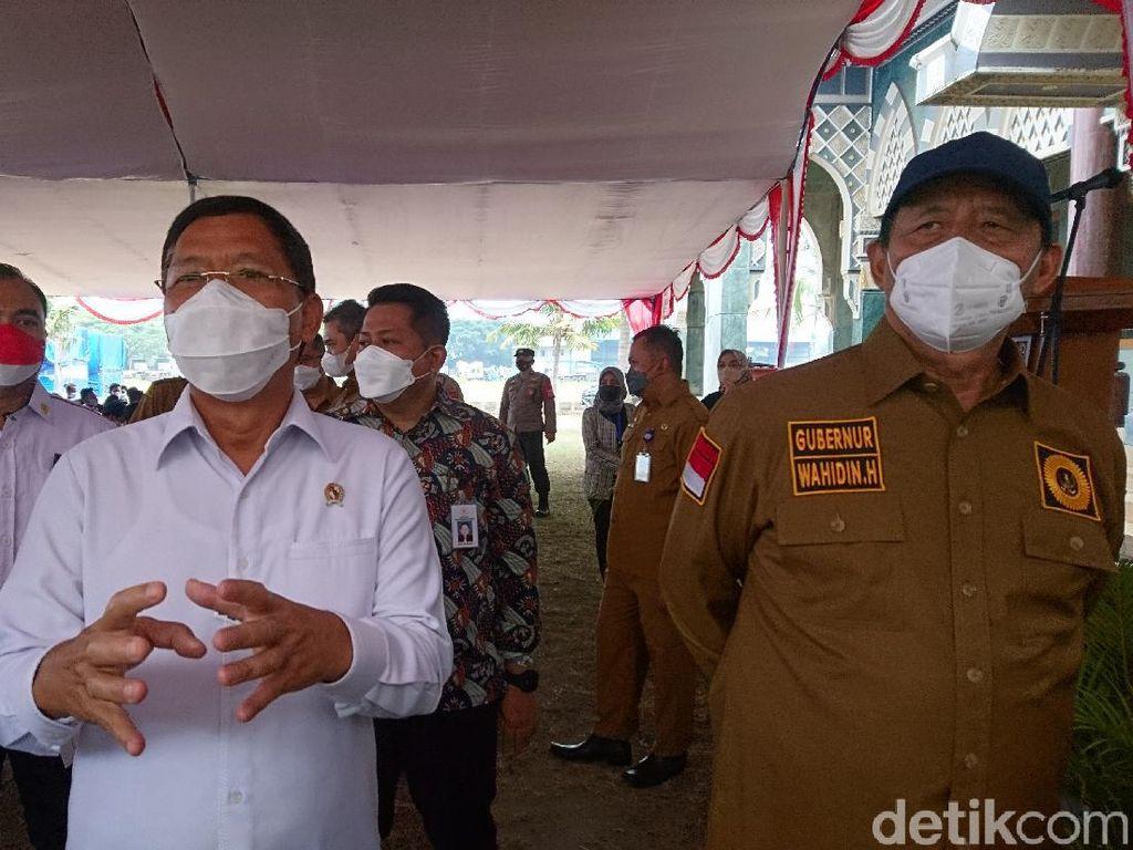 Stok Vaksin COVID Banten Kurang, Wahidin Minta Wantimpres Bisiki Presiden