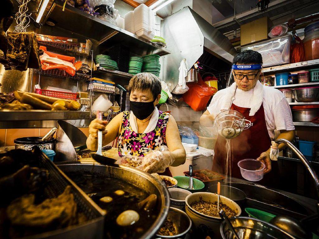 7 Pusat Kuliner Singapura Favorit Selebriti Dunia dan Diakui Michelin