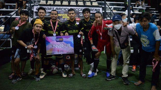 European Football Fans Association Indonesia (EFFA Indo) atau bisa disebut Komunitas Fans klub sepakbola Eropa baru saja menggelar turnamen mini Soccer. Indo Barca Jakarta jadi juaranya.