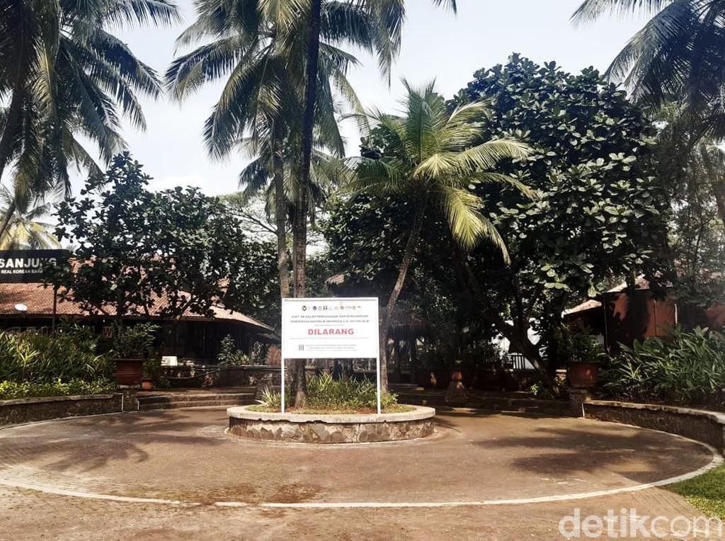 Kondisi Pusat Kuliner Karawaci di Aset yang Disita Satgas BLBI