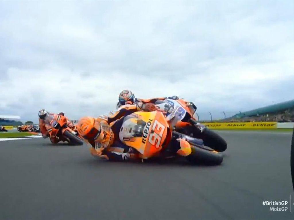 Crash Bareng Marc Marquez, Jorge Martin: Ia Rusak Balapanku!