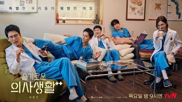 Kelima karakter pemeran drama Korea Hospital Playlist