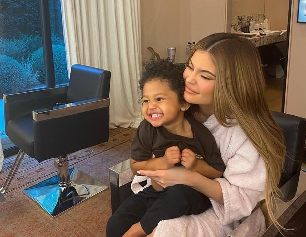 Kylie Jenner dan Stormi Webster