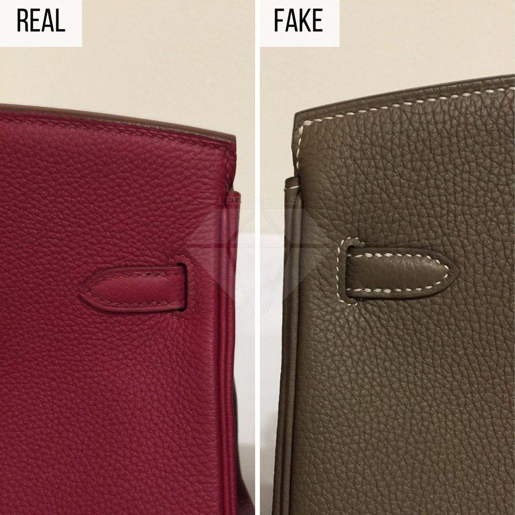 Perbedaan tas Hermès asli dan palsu