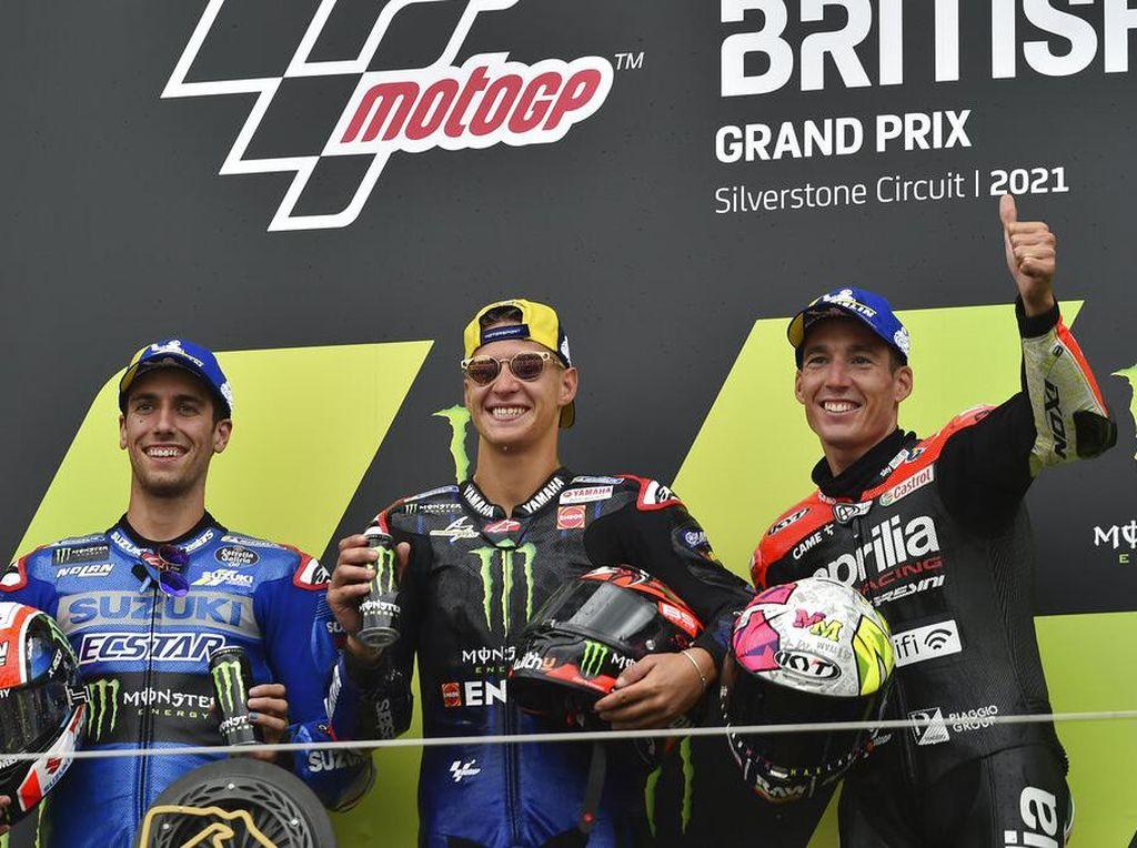 Dituduh Dukung Quartararo di MotoGP Inggris, Ini Jawaban Michelin